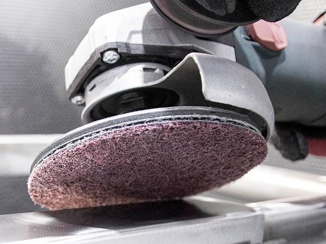 disco abrasivo non woven con más potencia