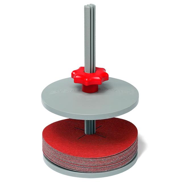 Soporte de disco de fibra