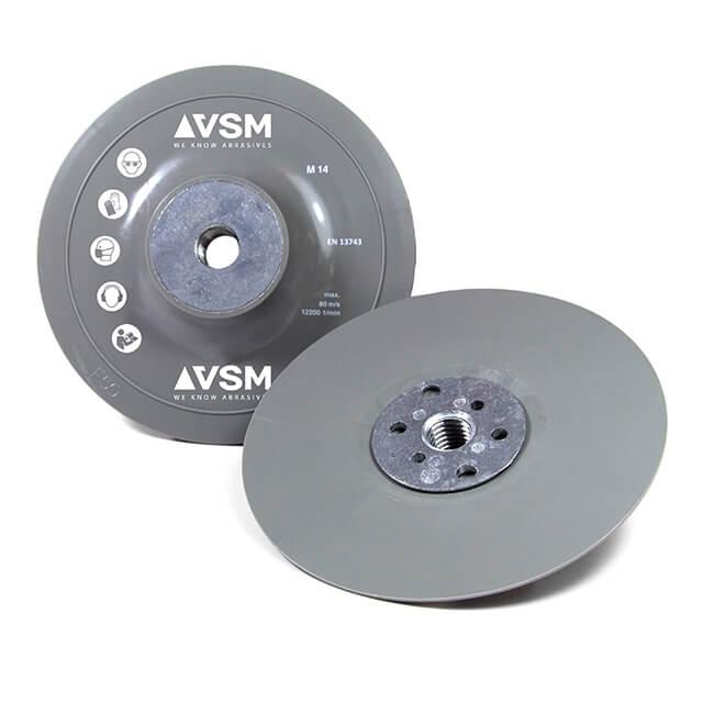 Platos soporte, medianos-duros para discos de fibra abrasivos
