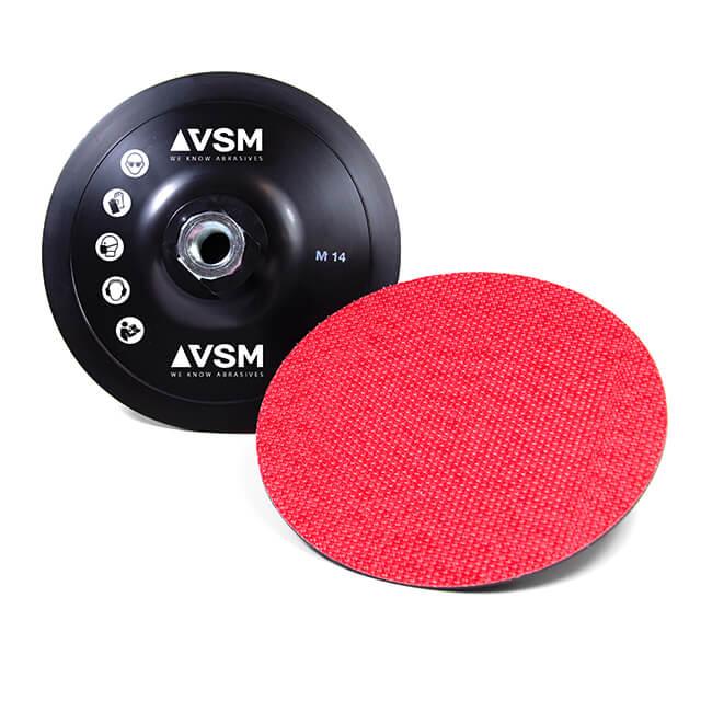 Platos soporte para discos abrasivos con soportes de papel y tela
