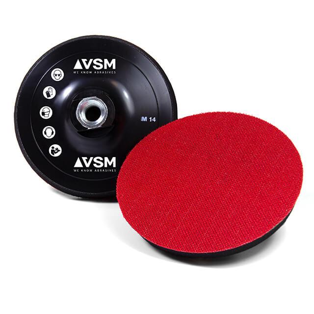 Platos soporte para discos abrasivos soporte de velour, suaves
