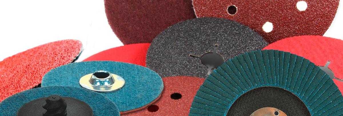 Tipos de discos abrasivos y sus características